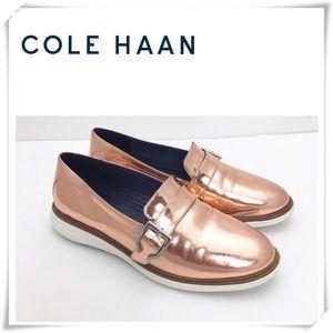 Cole Haan Grand Evolution Rose Gold Loafer